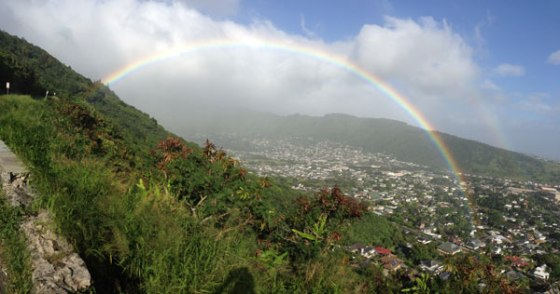 Photo courtesy Tantalus resident Mike McFarlane